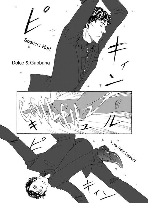 Sherlock Holmes BBC fan manga