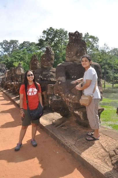 Angkor Thom gate asura