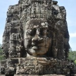 bayon temple tower face