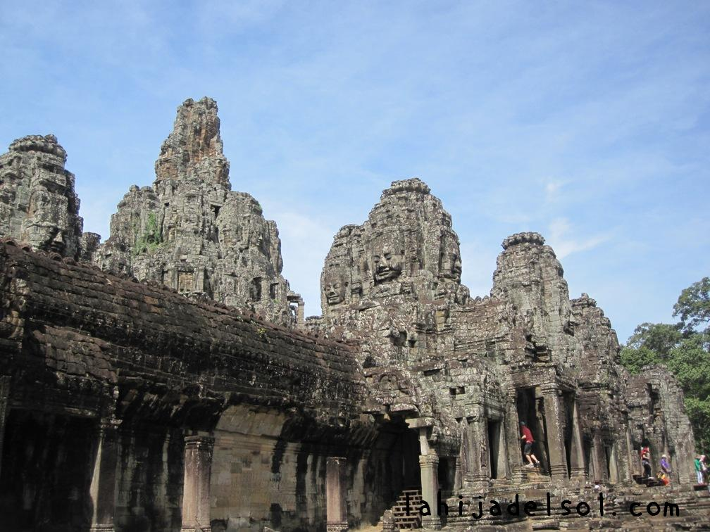 Outside Bayon Temple