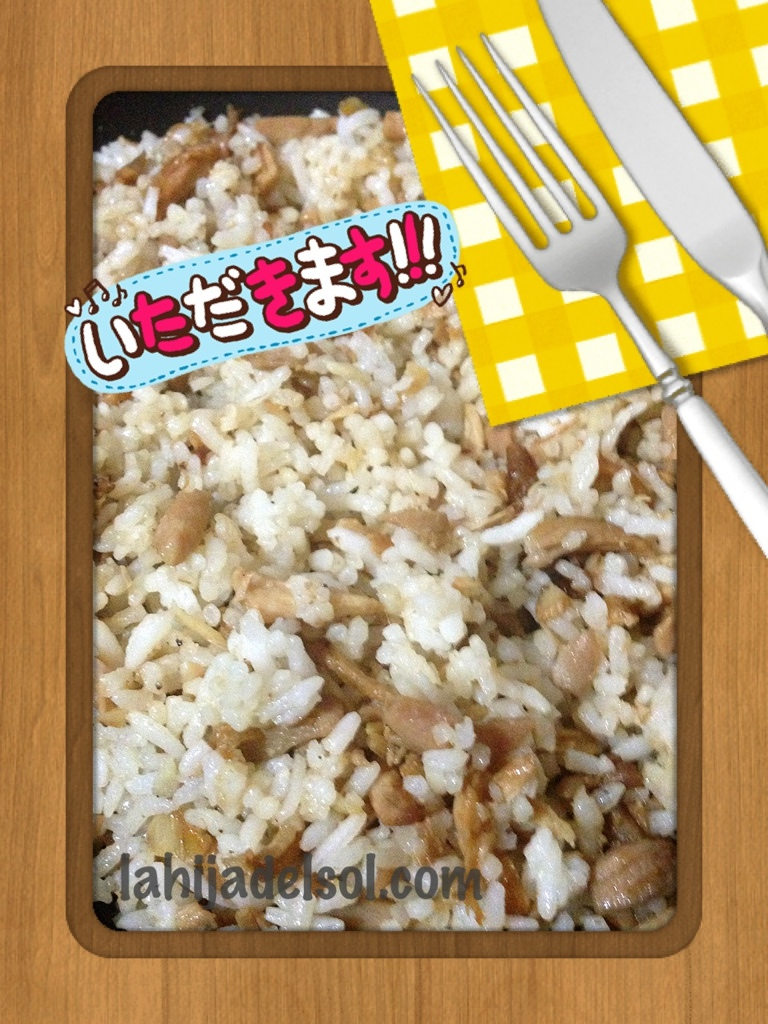 Recipe for Adobo flakes fried rice