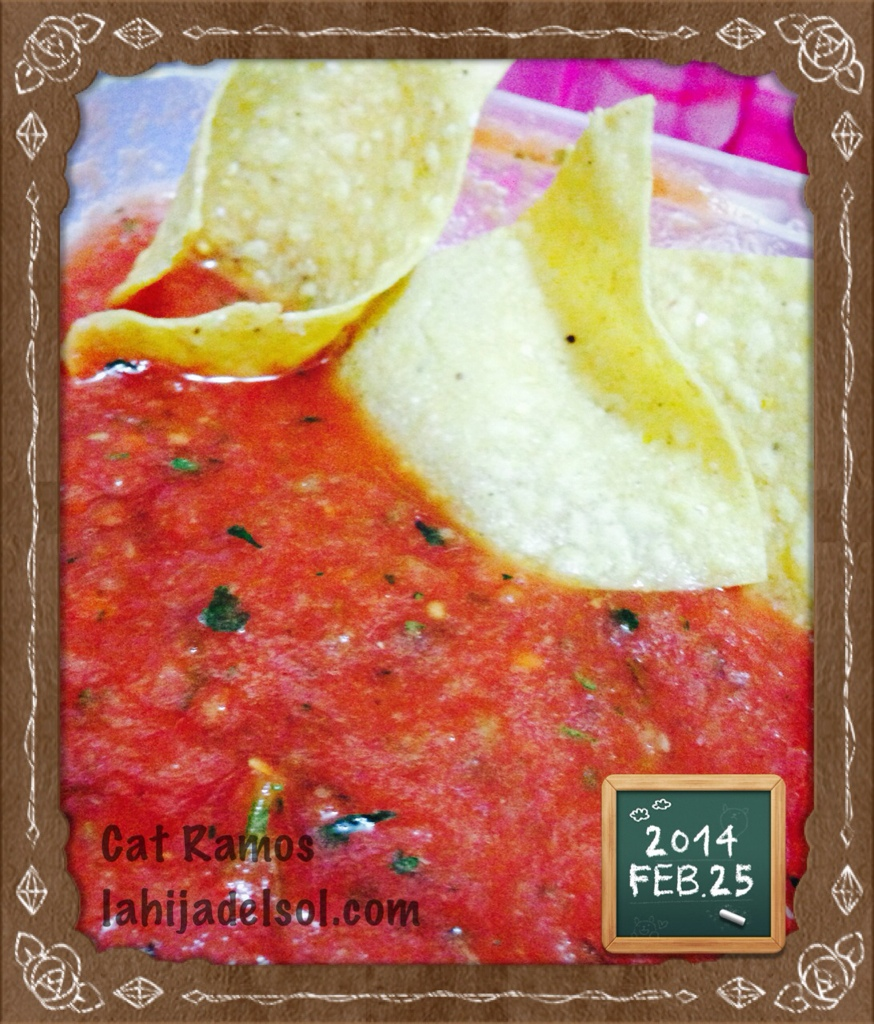 Homemade salsa version 1.0
