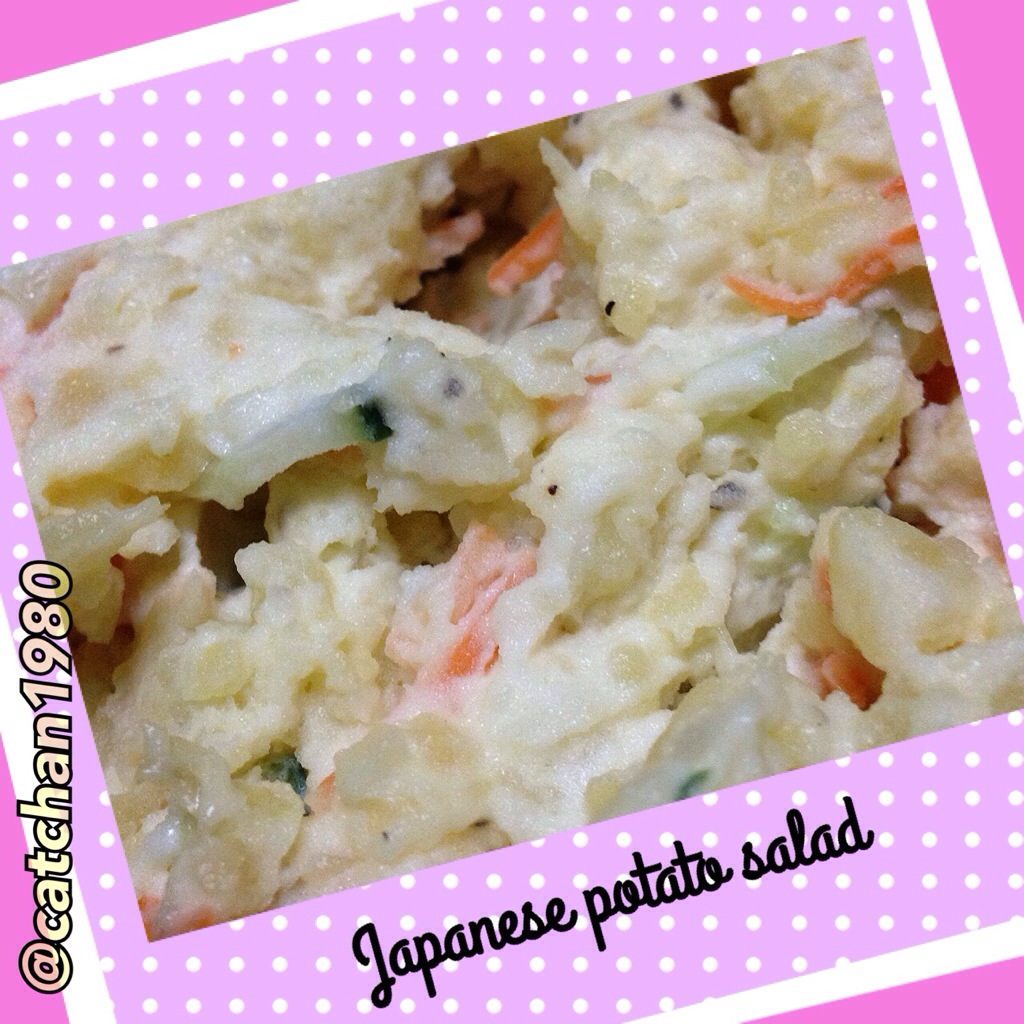"Japanese potato salad and a reunion of ""crazies"""