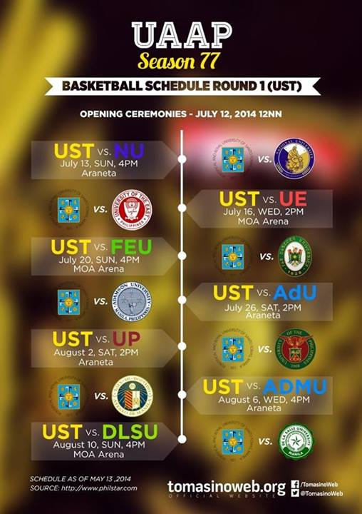 UST Men's Basketball Team gears up for UAAP Season 77
