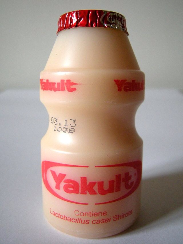 Simple lemon yakult