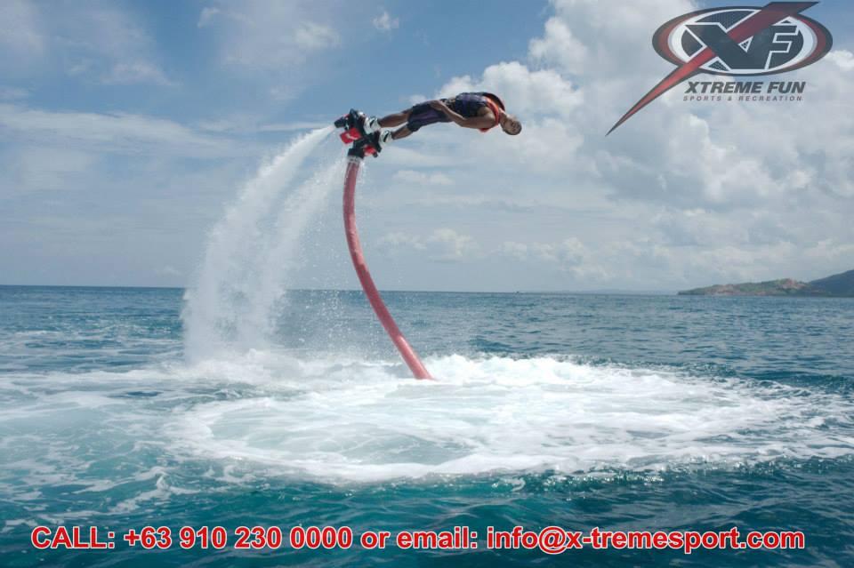Flyboarding in Boracay
