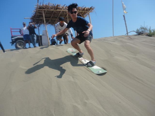 Sandboarding, La Paz Sand Dunes ilocos