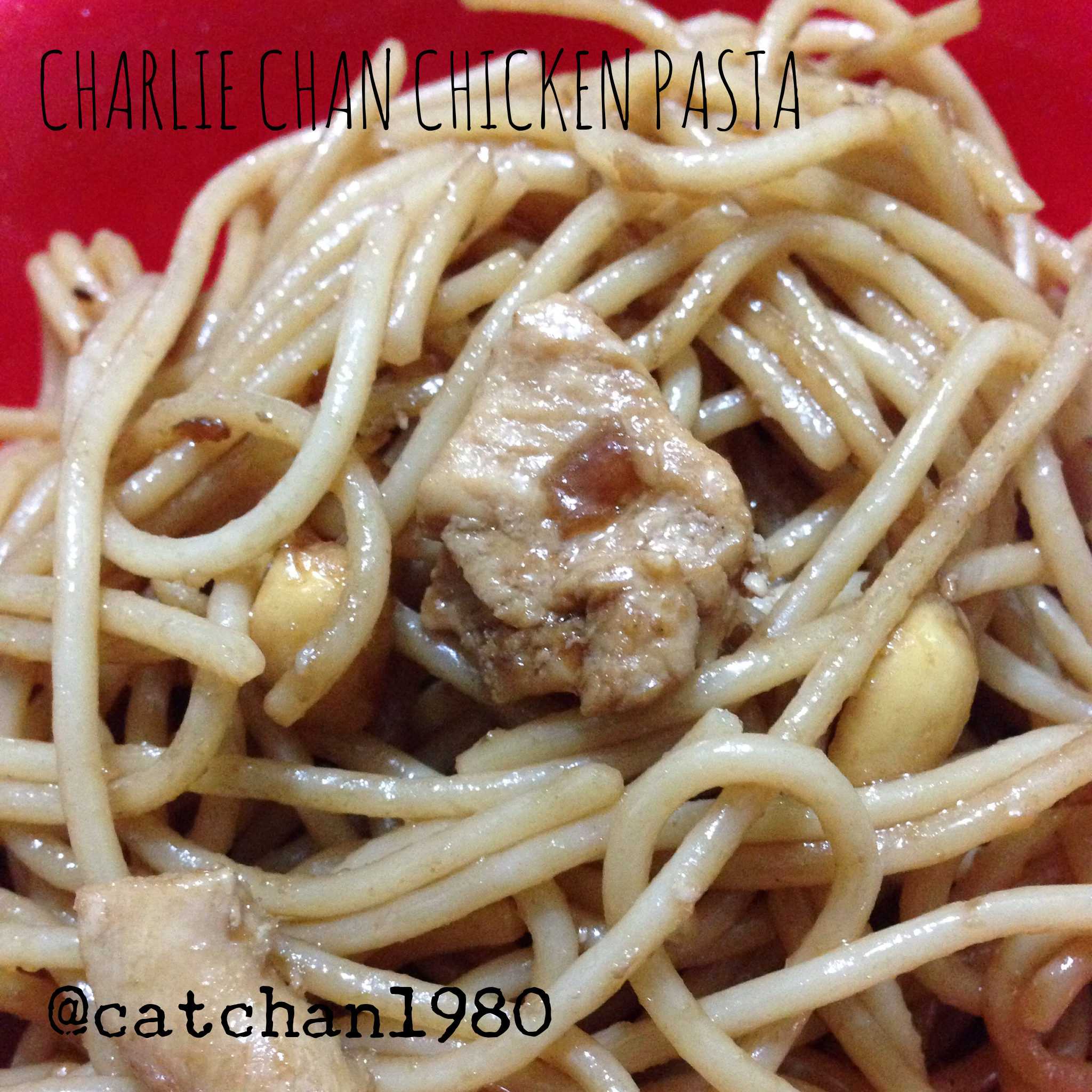 Charlie Chan Chicken Pasta – at home!