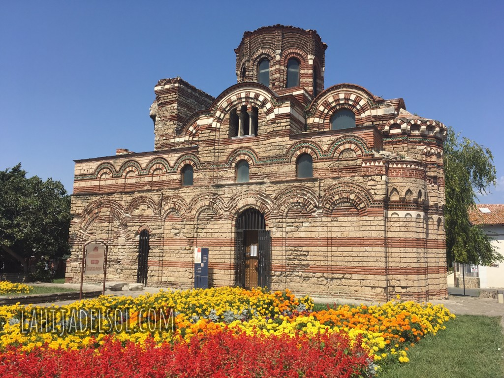 The medieval Orthodox Church of Christ Pantocrator in Nesebar, Bulgaria