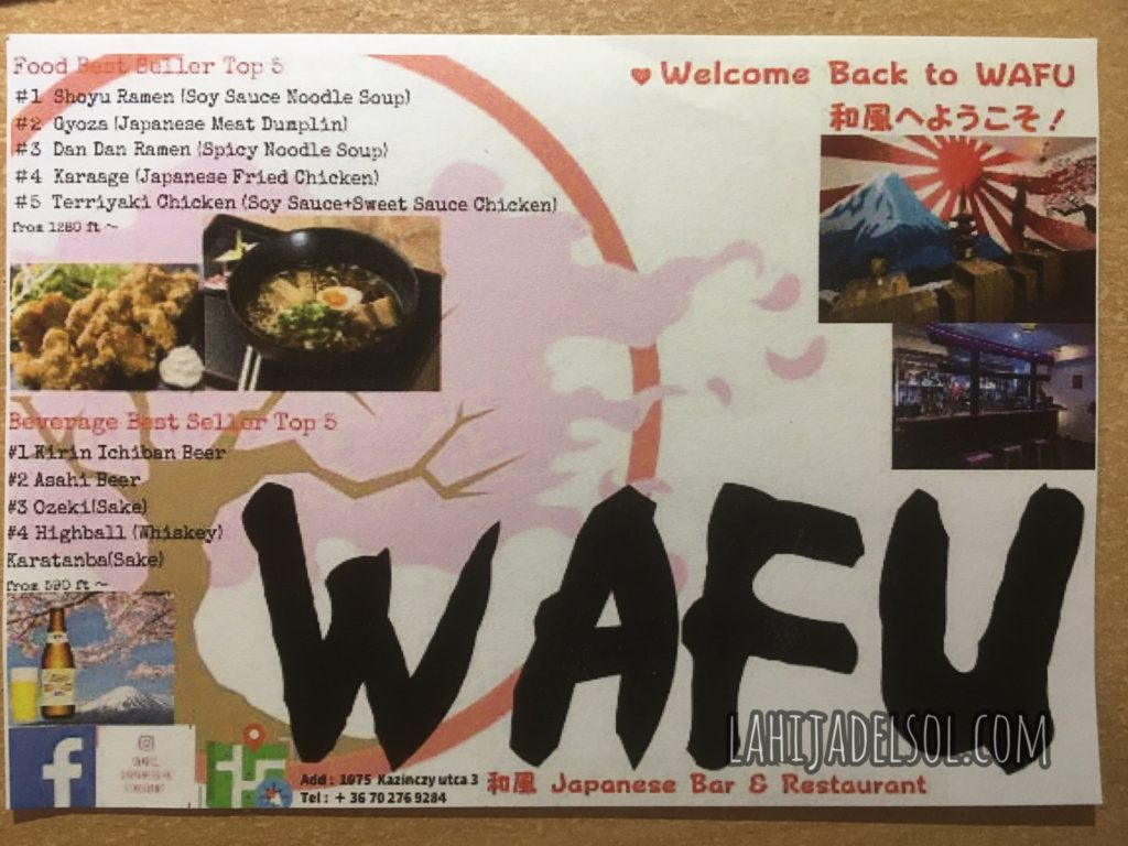 Note from Wafu